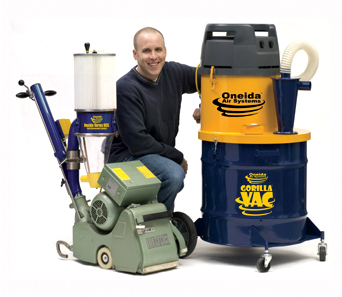 Our hardwood floor refinishing equipment